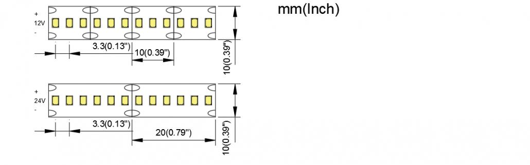 2216 300LED 10MM PCB 1
