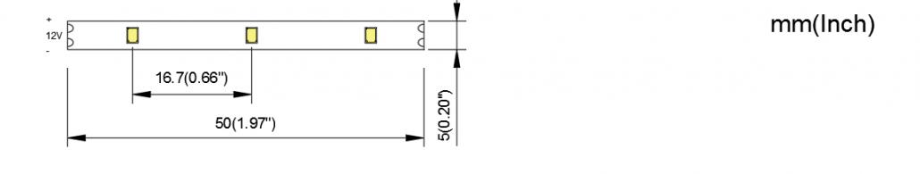 2216 60LED 5MM PCB