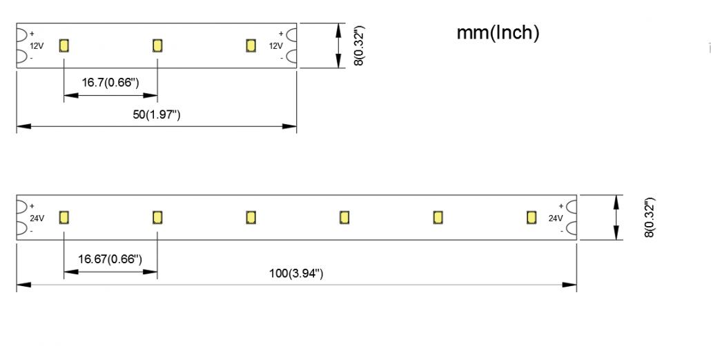 2216 60LED 8MM PCB 1