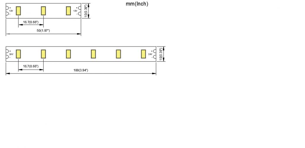 5730 60LED 10MM PCB