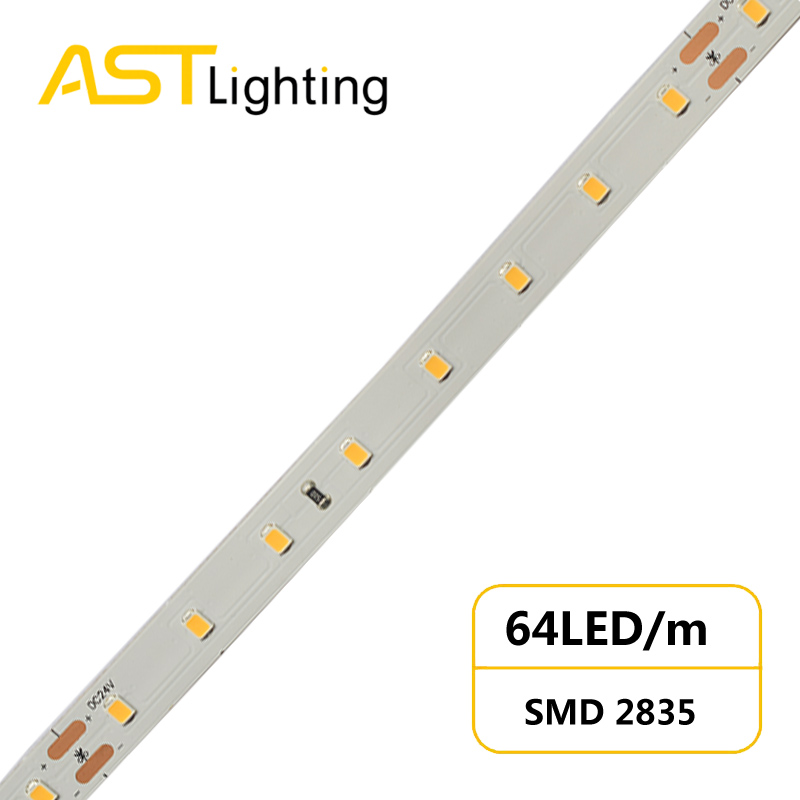 HE 2835 64 24 10 high lumen led strip china factory high bright5