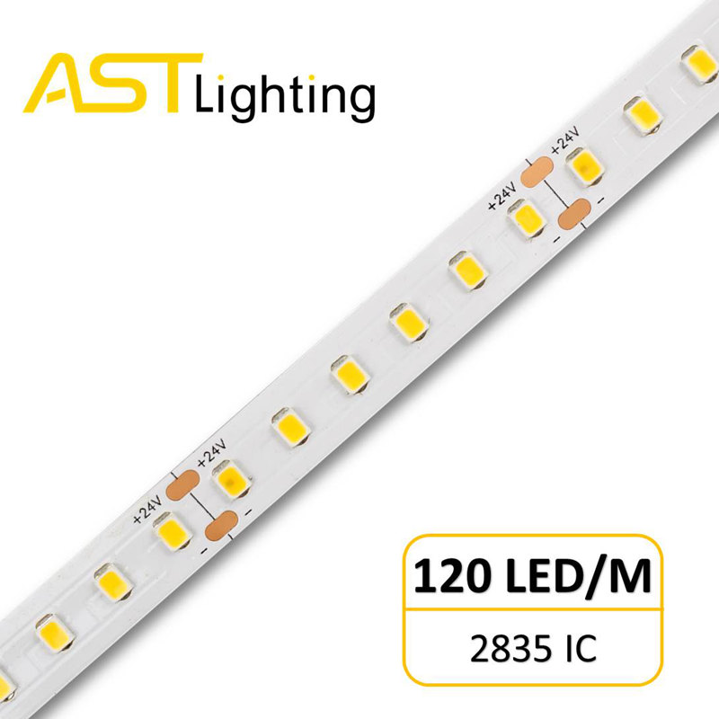 2835IC120LED9.6W24V10mm30M 1