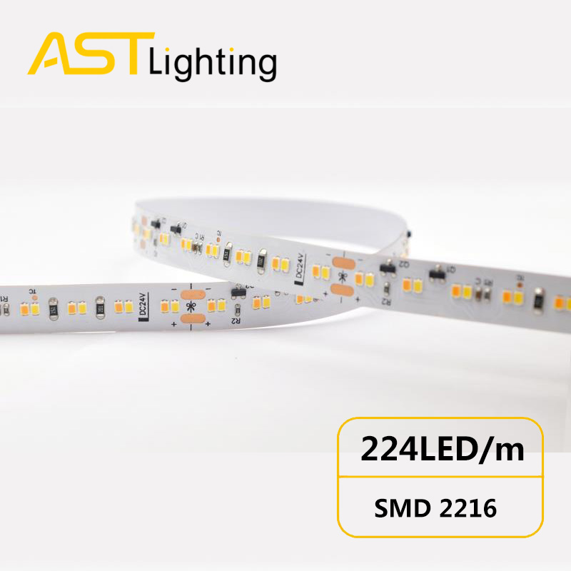 Dim to warm led strip china factory high bright