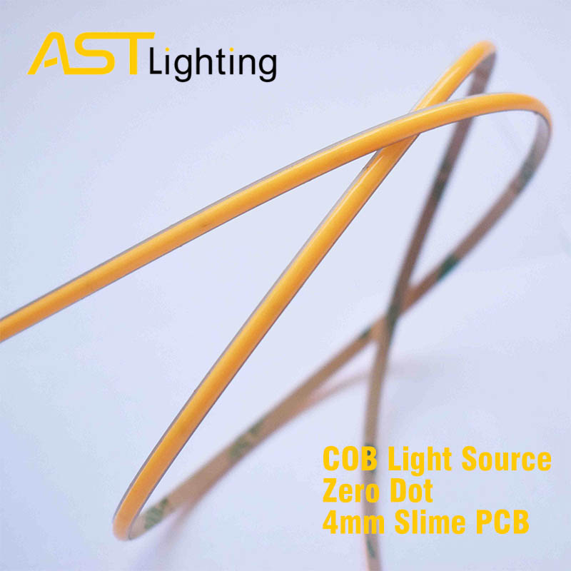 COB 480 24 4 led strip china factory high bright dot free