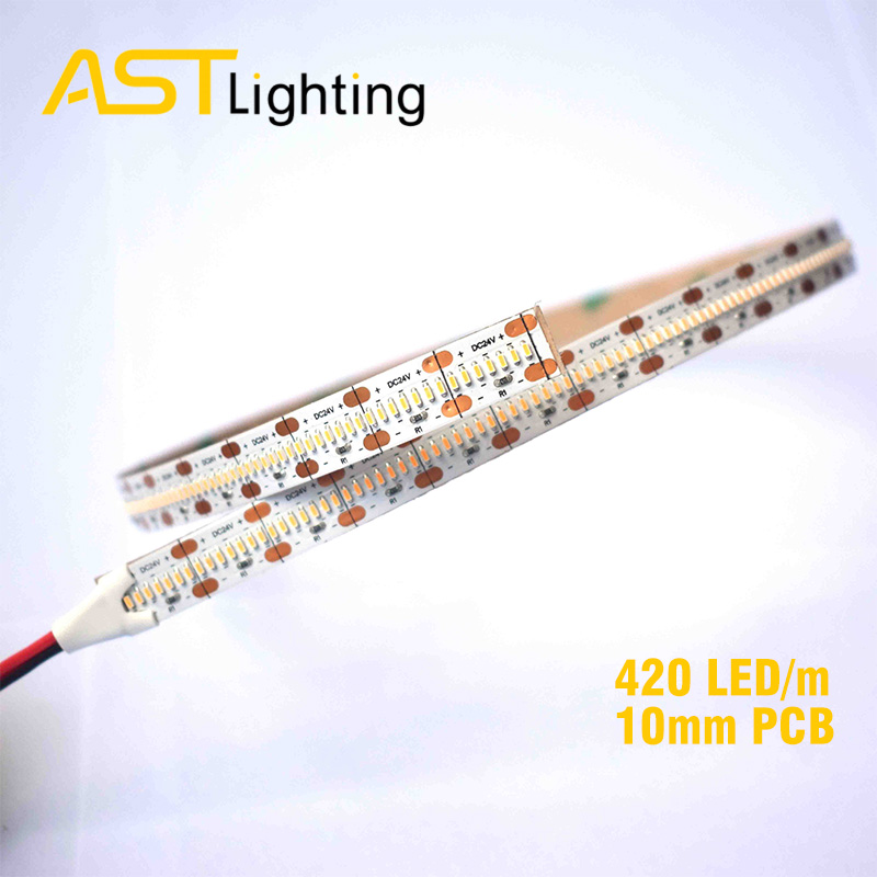 HD 1808 420 24 10 2 led strip china factory high bright