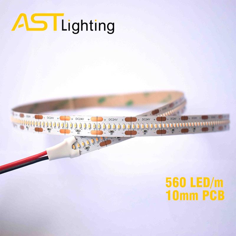 HD 1808 560 24 10 2 led strip china factory high bright 2