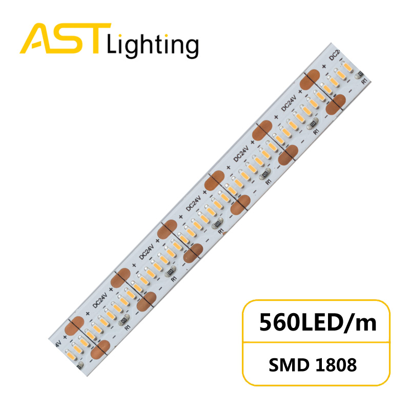 HD 1808 560 24 10 1 led strip china factory high bright