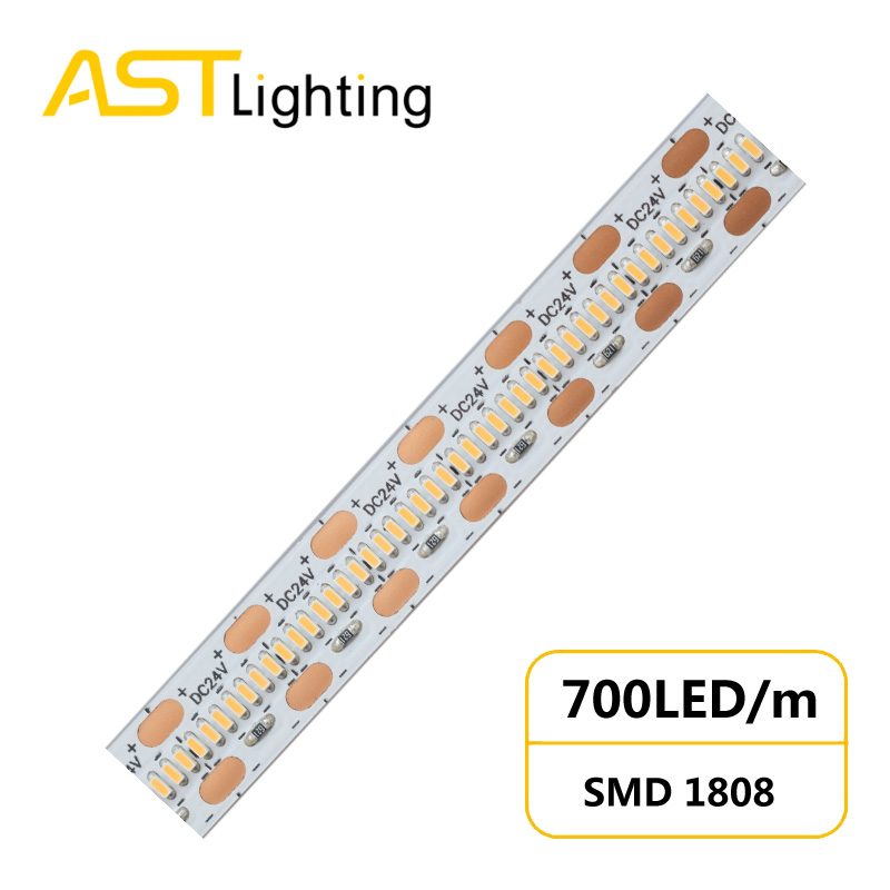 HD 1808 700 24 10 1 led strip china factory high bright