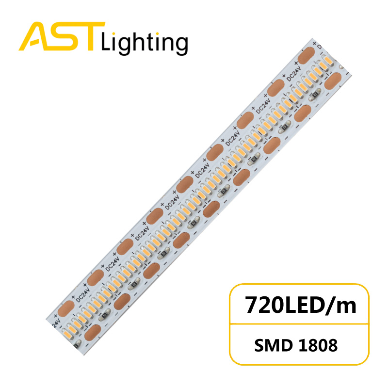 HD 1808 720 24 10 1 led strip china factory high bright