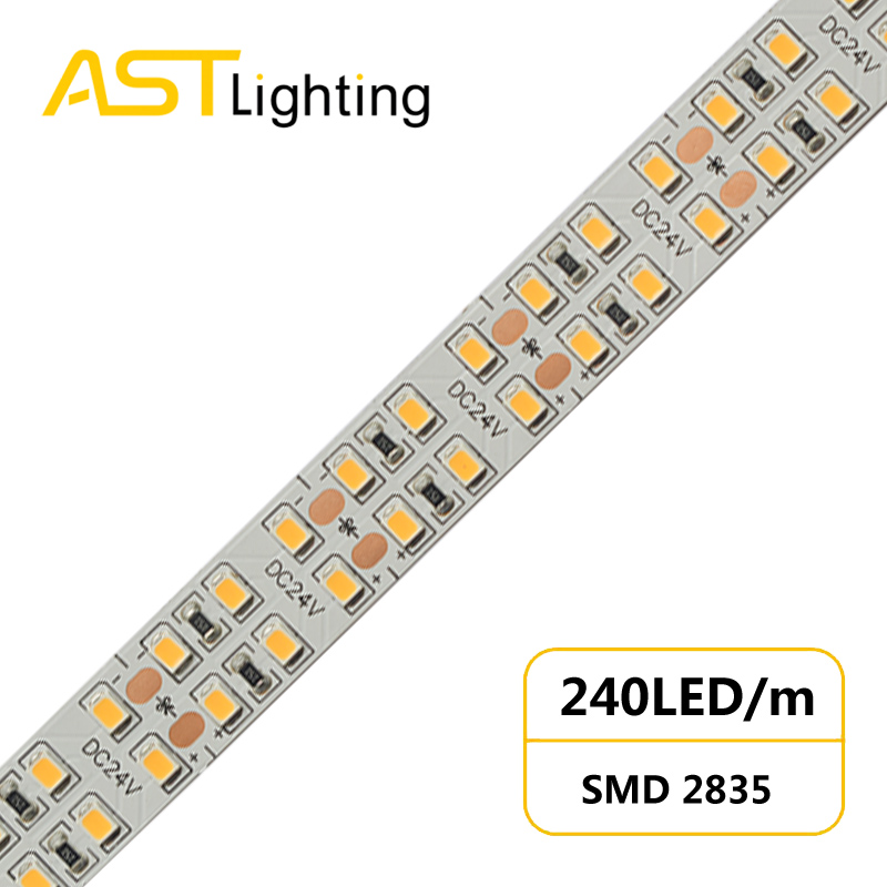 MN 2835 240 24 15 high power led strip china factory high bright5