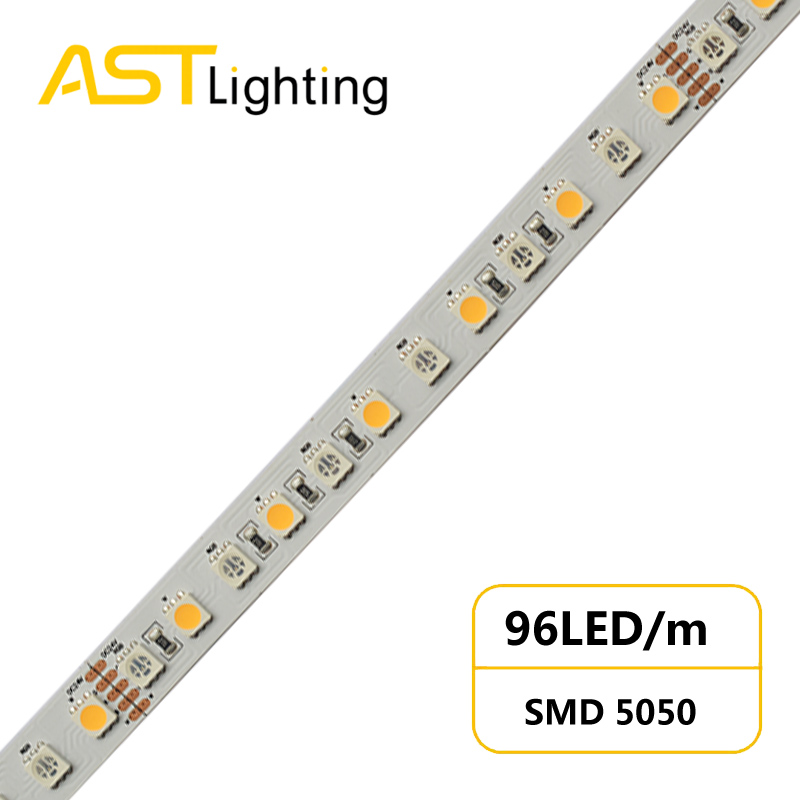RGBW 5050 96 24 12 dynamic color led strip china factory high bright5