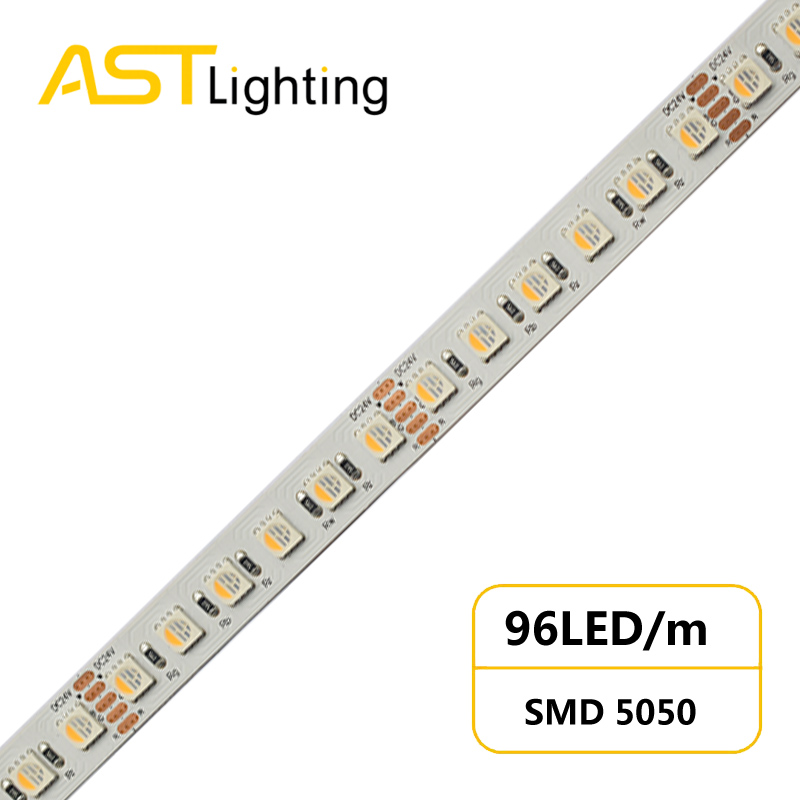 RGBW 5050I 96 24 12 dynamic color led strip china factory high bright5