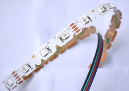 ST 5050 42 12 12 RGB s type bentable led strip china factory high bright6