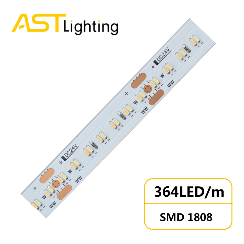 TW 1808 364 24 10 1 led strip china factory high bright