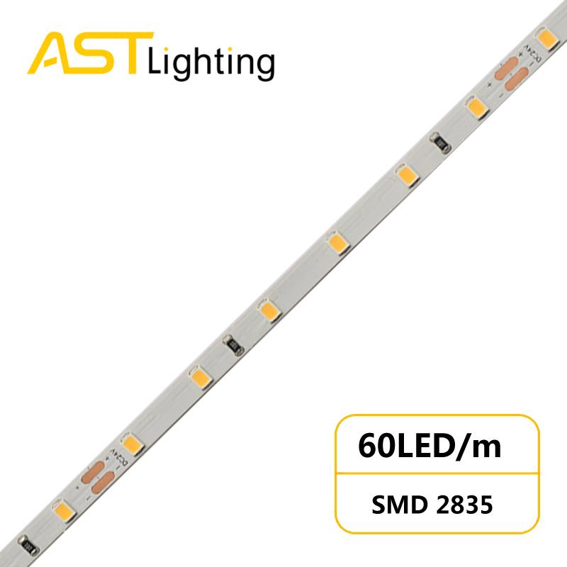 US 2835 60 24 5 slim led strip china factory high bright5