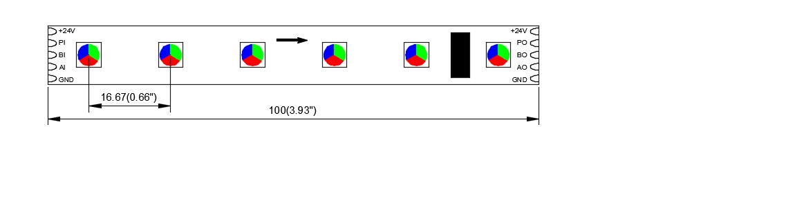 DMX512 SM16512 60 24 12