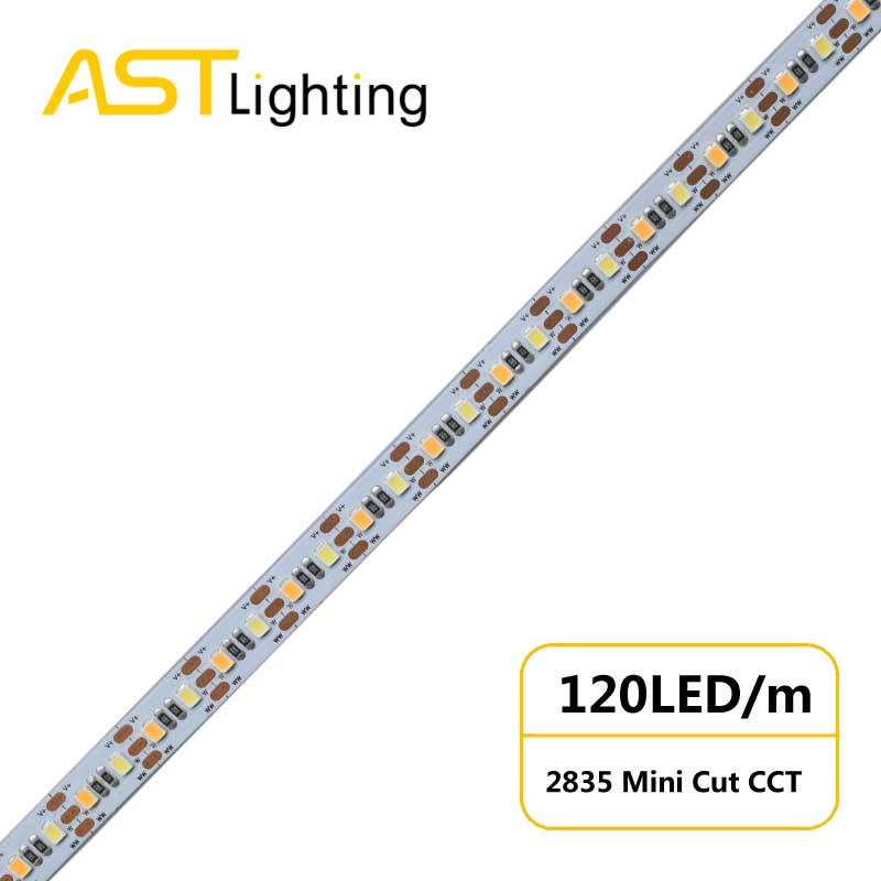 MC 2835 120 10 CCT high bright China factory high efficiency led strip 1