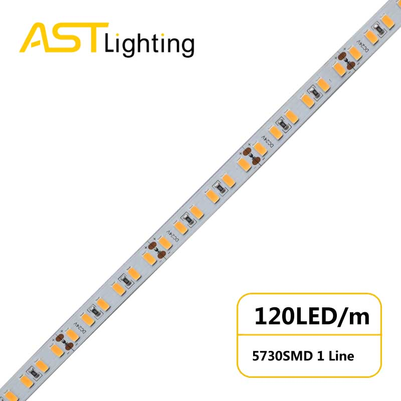 MN 5730 120 24 10 high bright China factory high efficiency led strip