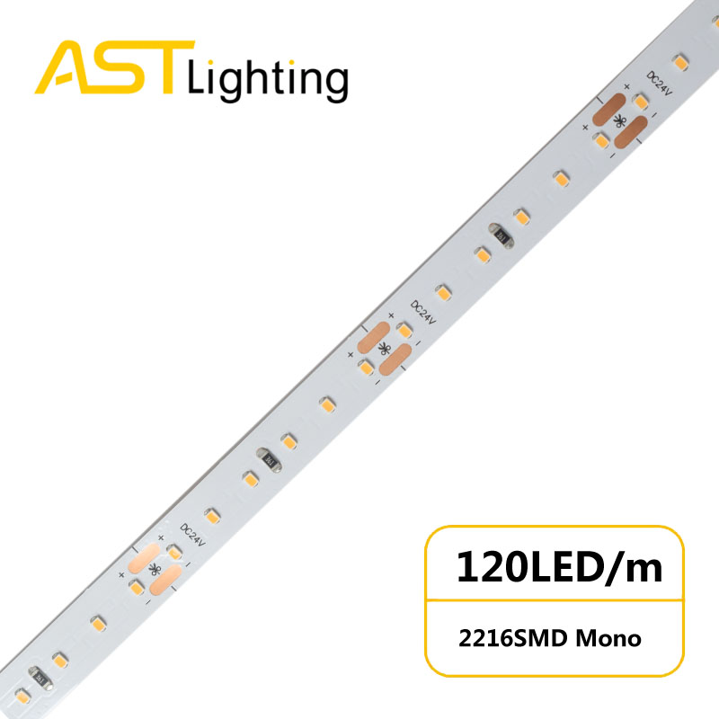 MN 2216 120 24 10 water proof led strip ip67 china factory