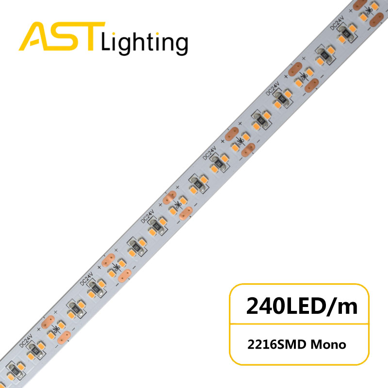 MN 2216 240 24 10 water proof led strip ip67 china factory