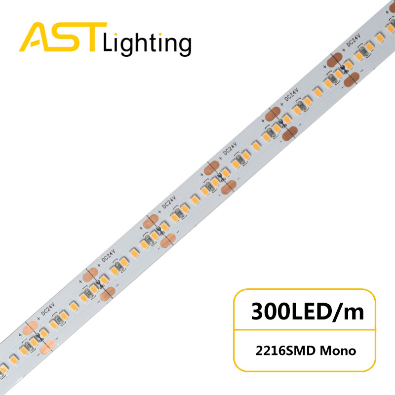 MN 2216 300 24 10 water proof led strip ip67 china factory