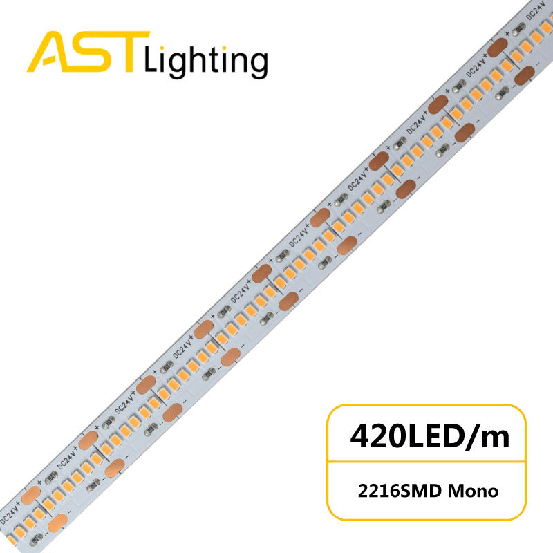 MN 2216 420 24 10 water proof led strip ip67 china factory