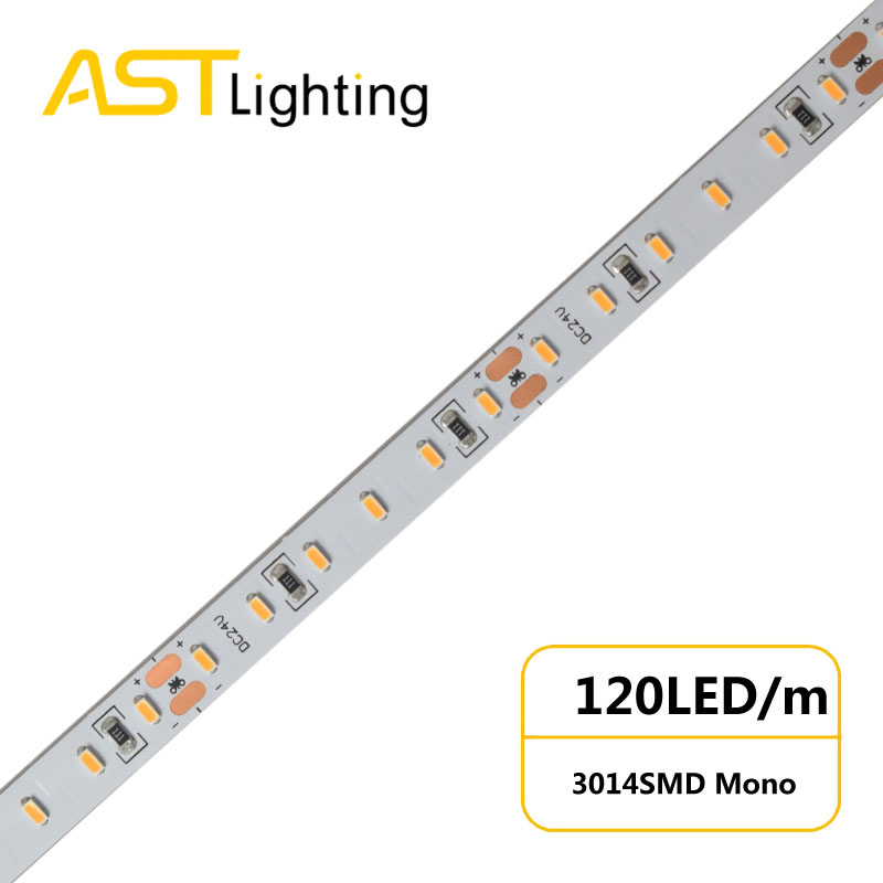 MN 3014 120 24 8 water proof led strip ip67 china factory