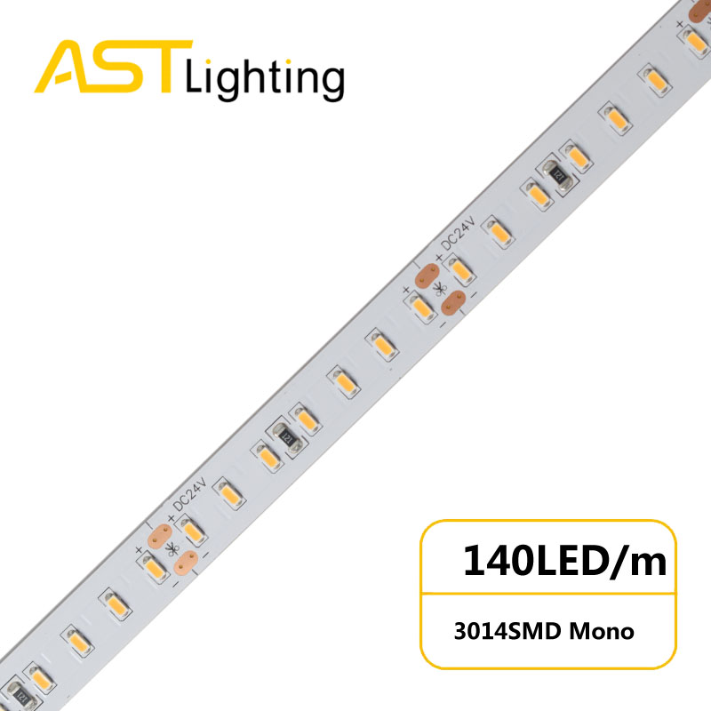 MN 3014 140 24 10 water proof led strip ip67 china factory
