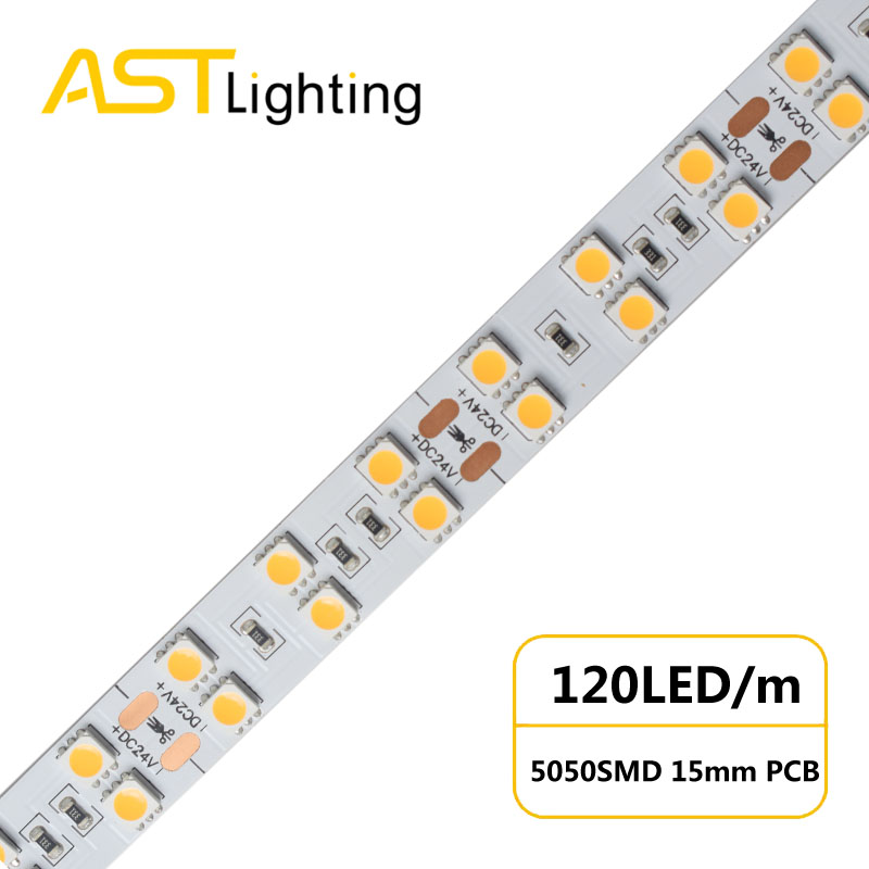 MN 5050 120 24 15 water proof led strip ip67 china factory