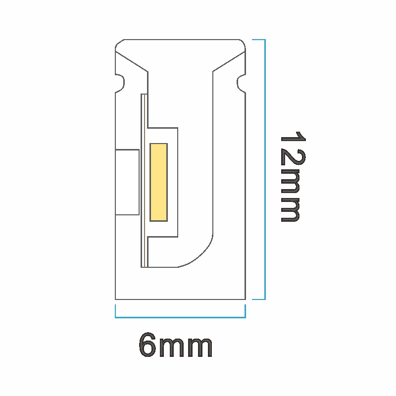NS0612 ICON drawing LED neon light China factory lighting solution LED strip light manufacturer project led light solution UV proof waterproof outdoor neon lighting LED neon lighting sign