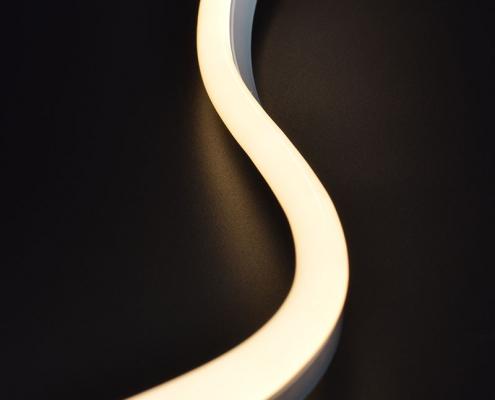 NS0817B LED neon light China factory lighting solution LED strip light manufacturer project led light solution