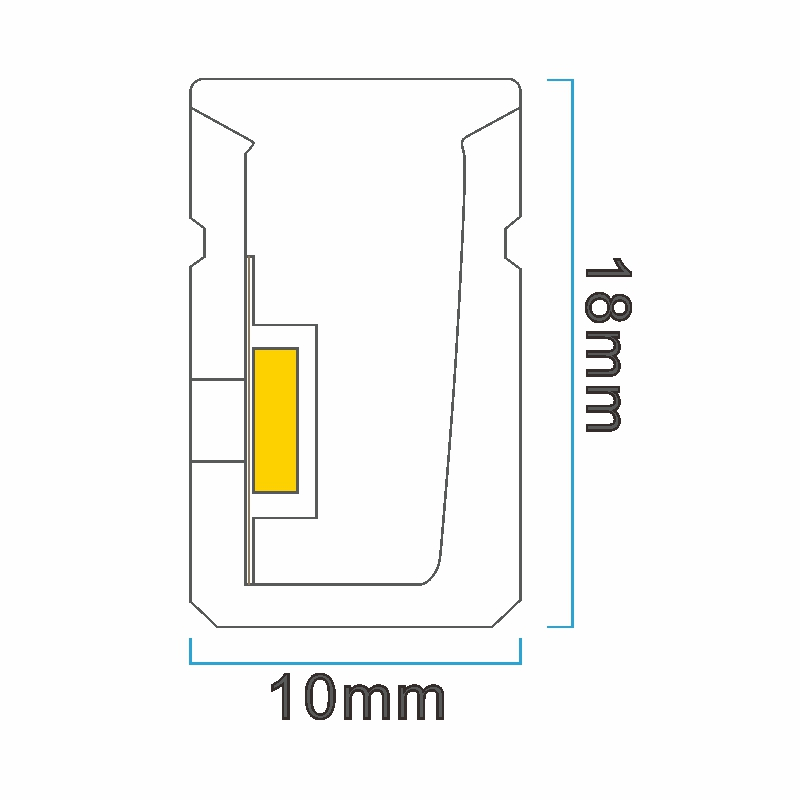 NS1018 ICON drawing LED neon light China factory lighting solution LED strip light manufacturer project led light solution UV proof waterproof outdoor neon lighting LED neon lighting sign