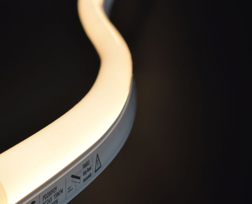NS1023B LED neon light China factory lighting solution LED strip light manufacturer project led light solution