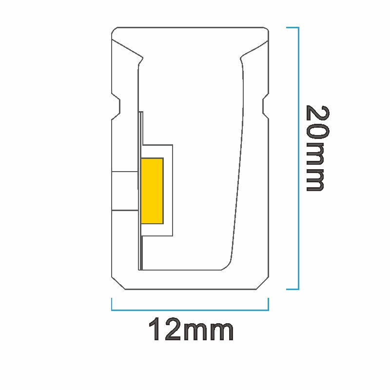 NS1220 ICON drawing LED neon light China factory lighting solution LED strip light manufacturer project led light solution UV proof waterproof outdoor neon lighting LED neon lighting sign