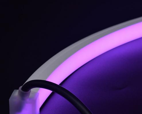NT1615B LED neon light China factory lighting solution LED strip light manufacturer project led light solution