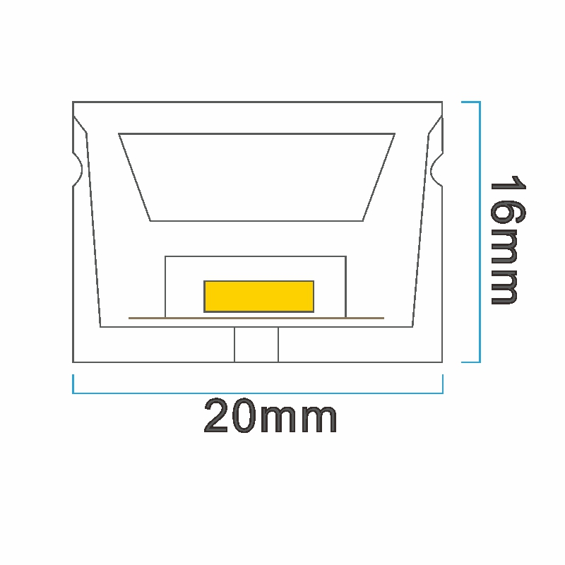 NT2016 ICON drawing LED neon light China factory lighting solution LED strip light manufacturer project led light solution UV proof waterproof outdoor neon lighting LED neon lighting sign