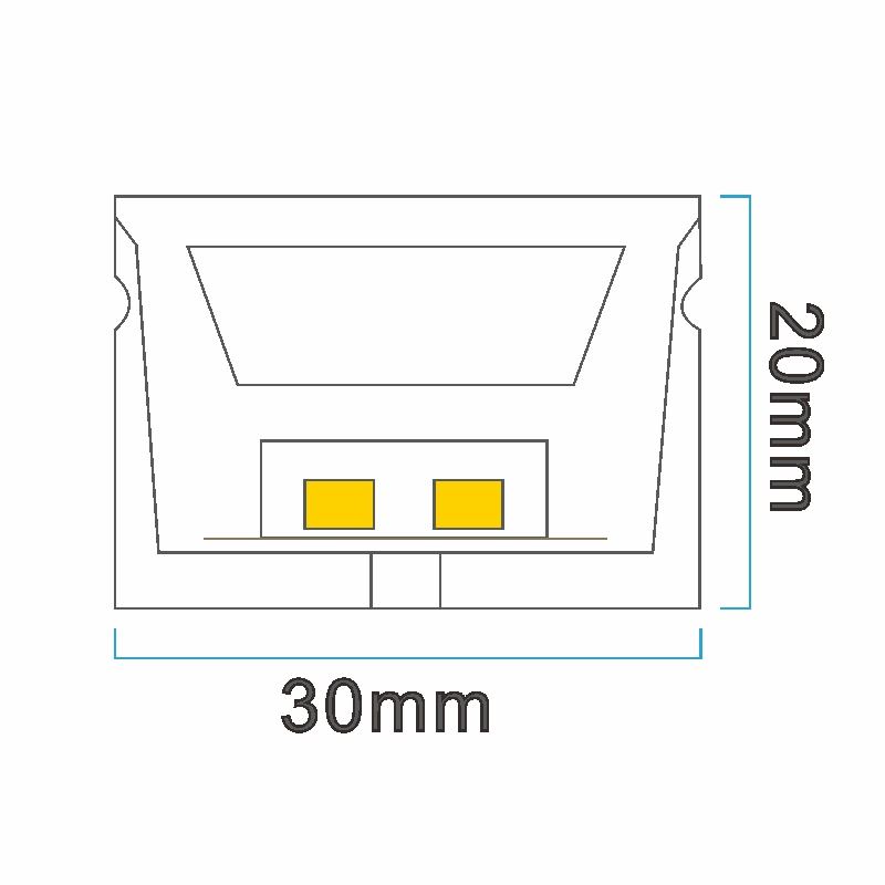 NT3020 ICON drawing LED neon light China factory lighting solution LED strip light manufacturer project led light solution UV proof waterproof outdoor neon lighting LED neon lighting sign