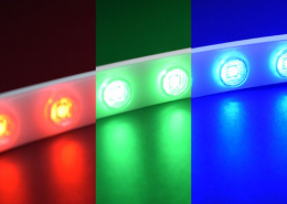 WLRGB Light effect 5050 LED RGB color flexible wall washer light TPU material IP67 waterproof LED strip