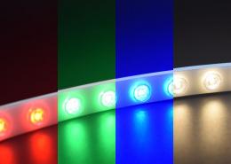 WLRGBW Light effect 5050 LEDRGBW flexible wall washer light TPU material IP67 waterproof LED strip