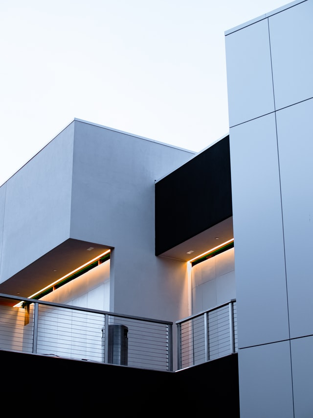 exterior wall washer light application